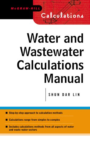 Water and Wastewater Calculations Manual   2001 9780071371957 Front Cover