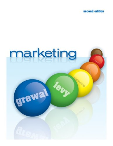 Marketing  2nd 2010 edition cover