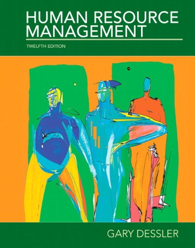 Human Resources Management  12th 2011 edition cover