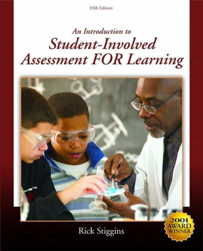 Introduction to Student-Involved Assessment for Learning  5th 2008 edition cover