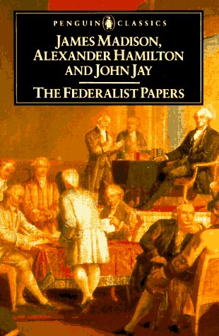Federalist Papers   1987 edition cover