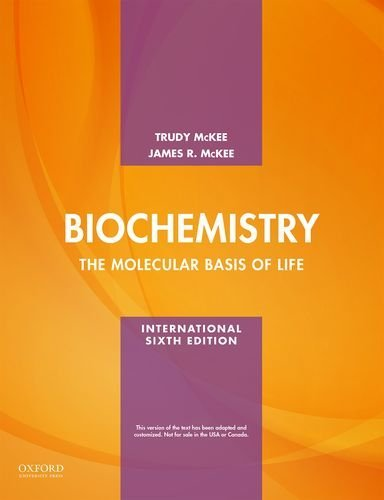 Biochemistry The Molecular Basis of Life 6th 2016 9780190209957 Front Cover