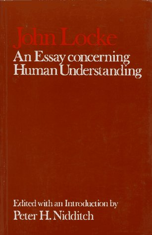 Essay Concerning Human Understanding   1979 (Reprint) edition cover