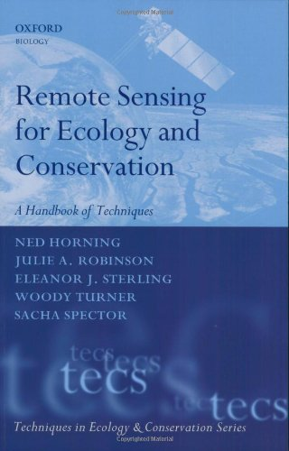 Remote Sensing for Ecology and Conservation A Handbook of Techniques  2010 edition cover