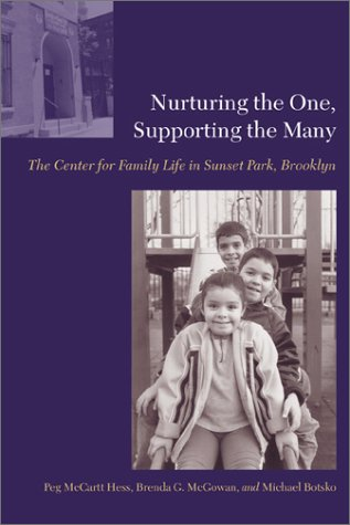 Nurturing the One, Supporting the Many The Center for Family Life in Sunset Park, Brooklyn  2002 9780231115957 Front Cover