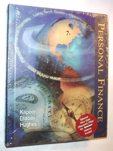 Personal Finance  5th 1999 (Student Manual, Study Guide, etc.) 9780256262957 Front Cover