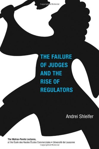 Failure of Judges and the Rise of Regulators   2012 9780262016957 Front Cover