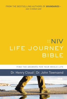 NIV Life Journey Bible Find the Answers for Your Whole Life N/A 9780310948957 Front Cover