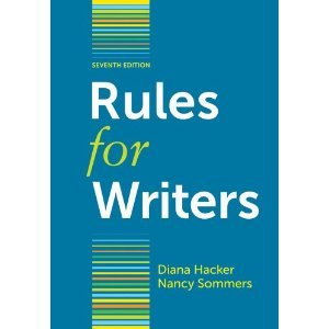 Rules for Writers with Writing about Literature (Tabbed Version)  7th 2011 edition cover