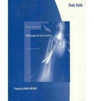 Managerial Economics  11th 2006 (Guide (Pupil's)) edition cover