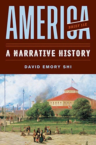 America: A Narrative History  2019 9780393668957 Front Cover