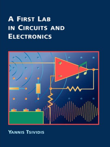 First Lab in Circuits and Electronics   2001 edition cover