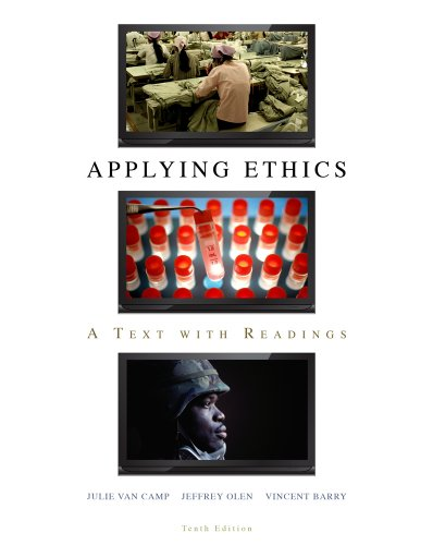 Applying Ethics A Text with Readings 10th 2011 edition cover