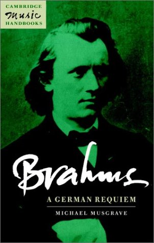 Brahms A German Requiem  1996 edition cover