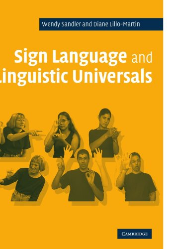 Sign Language and Linguistic Universals   2005 edition cover