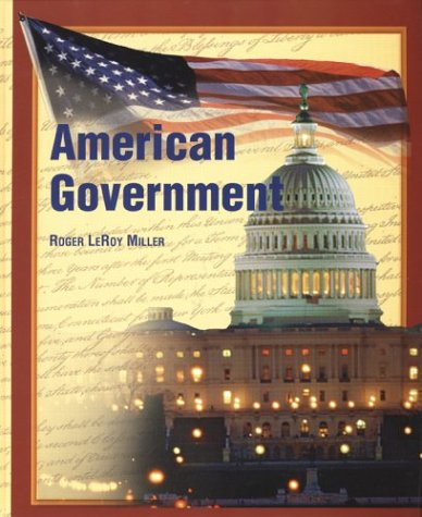 American Government   2002 (Student Manual, Study Guide, etc.) 9780658020957 Front Cover