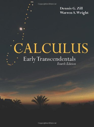 Calculus Early Transcendentals 4th 2011 (Revised) edition cover