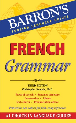 French Grammar  2nd 2011 (Revised) edition cover