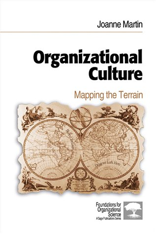 Organizational Culture Mapping the Terrain  2001 9780803972957 Front Cover