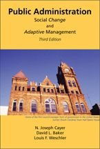 Public Administration Social Change and Adaptive Management N/A edition cover