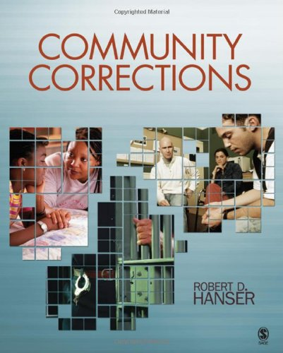Community Corrections   2010 edition cover