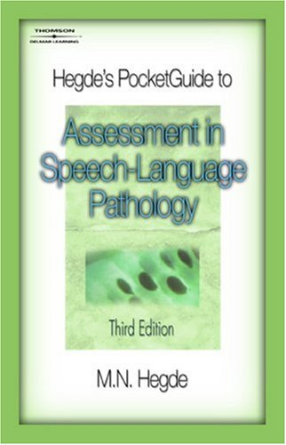 Assessment in Speech-Language Pathology  3rd 2008 (Revised) edition cover