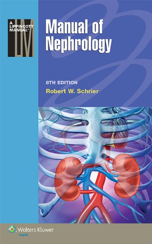 Manual of Nephrology  8th 2015 (Revised) 9781451192957 Front Cover