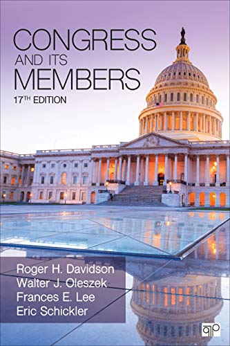 Congress and Its Members:   2019 9781544322957 Front Cover