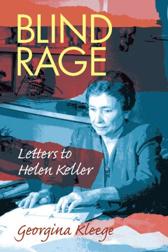 Blind Rage Letters to Helen Keller  2006 edition cover