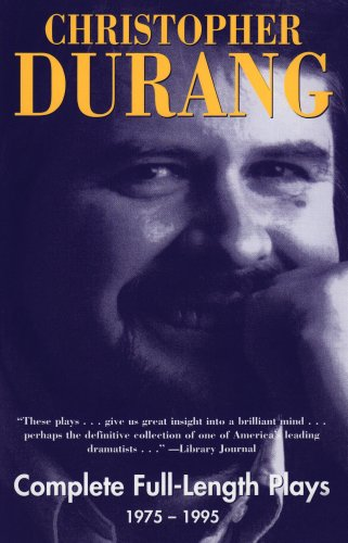 Christopher Durang: Complete Full-Length Plays 1975-1995  2002 edition cover