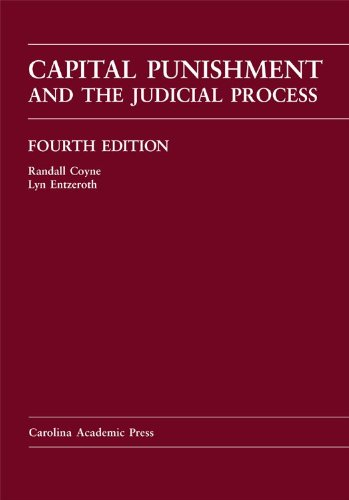 Capital Punishment and the Judicial Process  4th edition cover