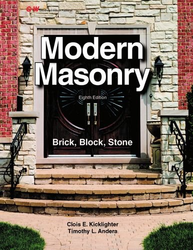 Modern Masonry Brick, Block, Stone 8th 2016 edition cover