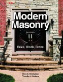 Modern Masonry Brick, Block, Stone 8th 2016 9781631260957 Front Cover