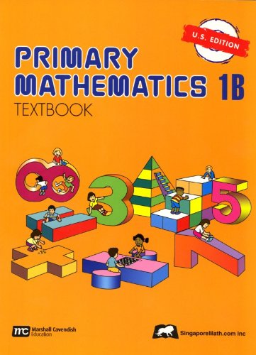 Primary Mathematics 1B Textbook U.S. Edition  N/A edition cover