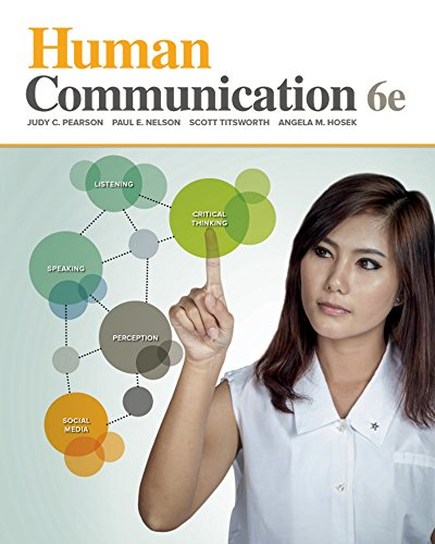 Human Communication:   2016 9780078036958 Front Cover