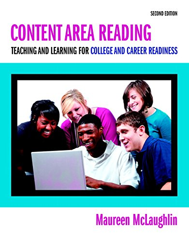 Content Area Reading Teaching and Learning for College and Career Readiness 2nd edition cover