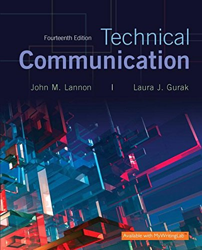 Technical Communication + Mywritinglab + Pearson Etext Access Card:   2016 9780134271958 Front Cover