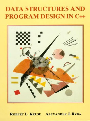 Data Structures and Program Design in C++   1999 edition cover