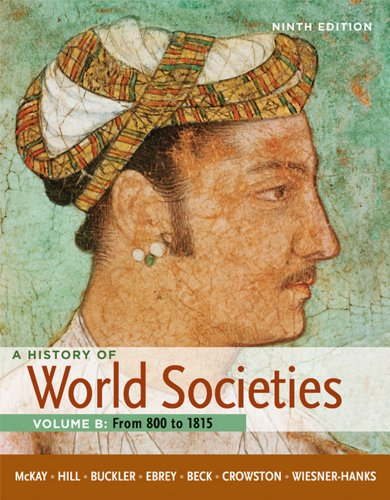 History of World Societies From 800 to 1815 9th 2012 edition cover