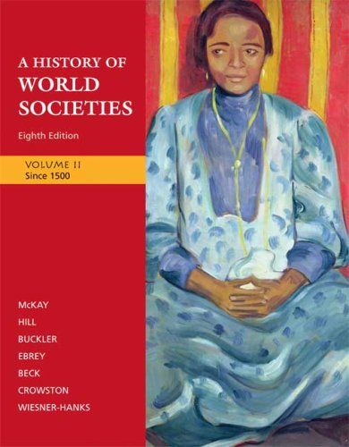 History of World Societies, since 1500  8th 2009 edition cover