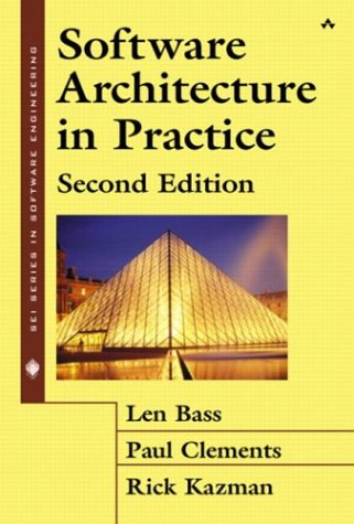 Software Architecture in Practice  2nd 2003 (Revised) edition cover