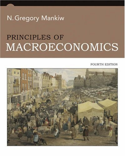 Principles of Macroeconomics  4th 2007 edition cover