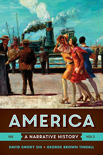 America: A Narrative History  2016 9780393265958 Front Cover