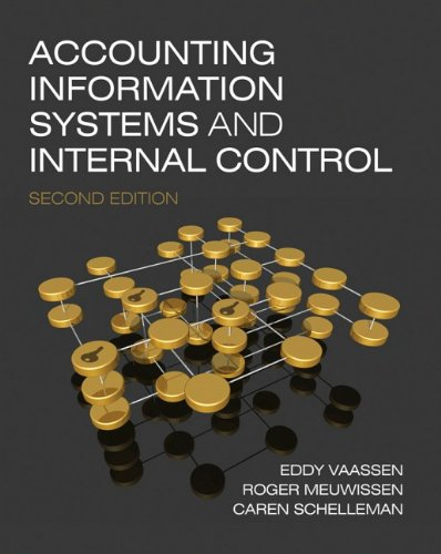 Accounting Information Systems and Internal Control  2nd 2009 edition cover