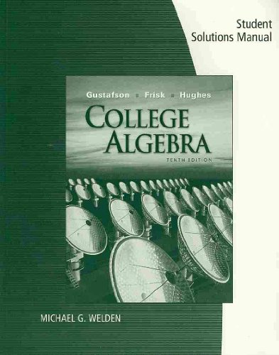 College Algebra  10th 2010 9780495558958 Front Cover