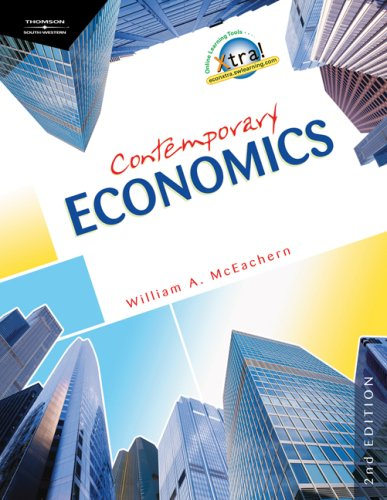 Contemporary Economics  2nd 2008 (Revised) edition cover