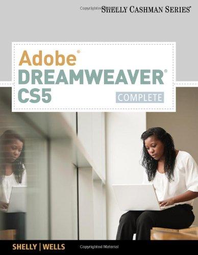 Adobe Dreamweaver CS5 Complete  2011 9780538473958 Front Cover