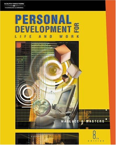 Personal Development for Life and Work  8th 2001 (Revised) 9780538697958 Front Cover