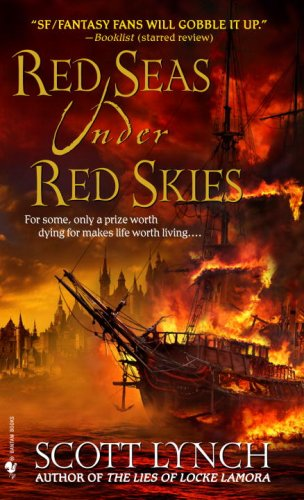 Red Seas under Red Skies  N/A 9780553588958 Front Cover