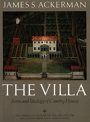 Villa Form and Ideology of Country Houses  1993 edition cover